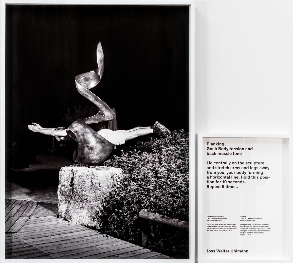 e8848903879721 Christian Jankowski,<em>Planking (Artistic Gymnastics)<em/>,